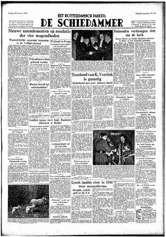 Rotterdamsch Parool / De Schiedammer 1949-01-28
