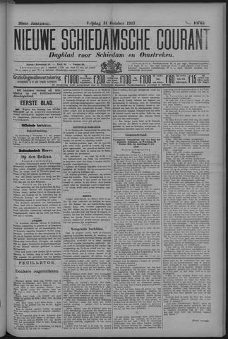 Nieuwe Schiedamsche Courant 1913-10-31