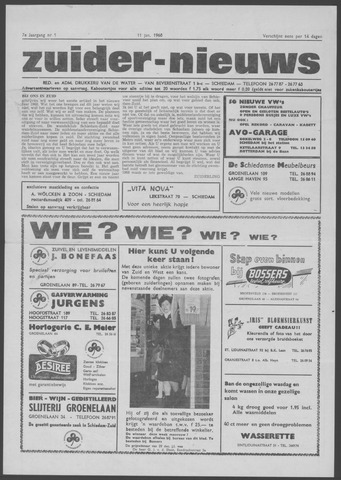 Zuider Nieuws 1968-01-11