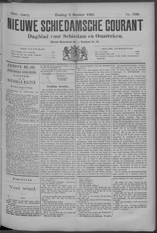 Nieuwe Schiedamsche Courant 1901-10-06