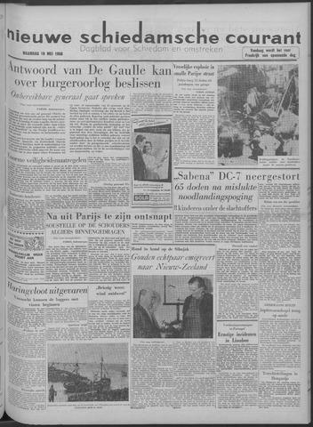 Nieuwe Schiedamsche Courant 1958-05-19