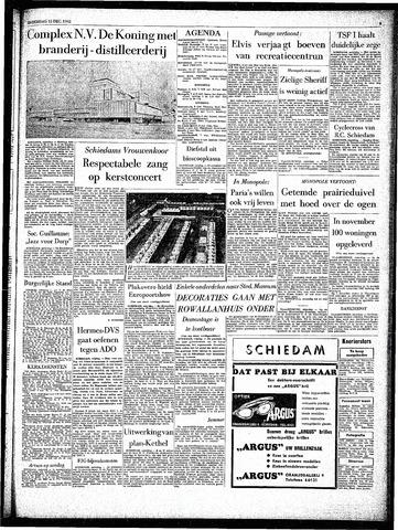 Rotterdamsch Parool / De Schiedammer 1962-12-15