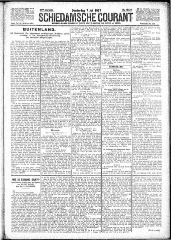 Schiedamsche Courant 1927-07-07