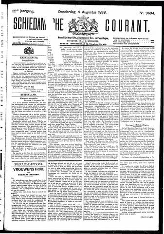 Schiedamsche Courant 1898-08-04
