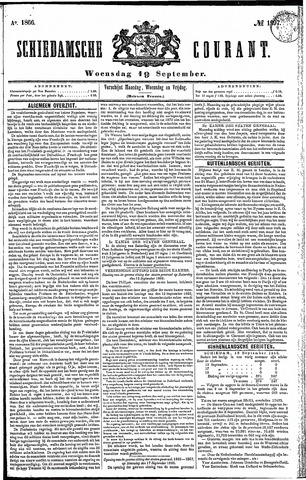 Schiedamsche Courant 1866-09-19