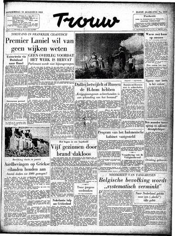 Trouw / De Rotterdammer 1953-08-13