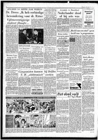 Rotterdamsch Parool / De Schiedammer 1957-09-30