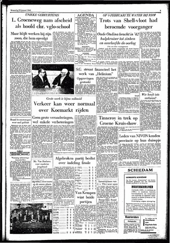Rotterdamsch Parool / De Schiedammer 1961-01-25