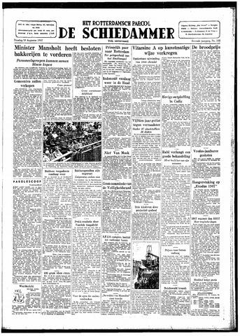 Rotterdamsch Parool / De Schiedammer 1947-08-19