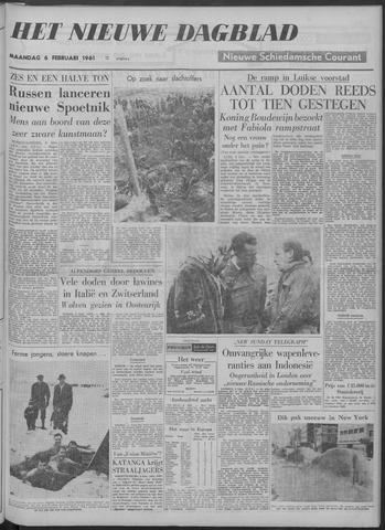 Nieuwe Schiedamsche Courant 1961-02-06