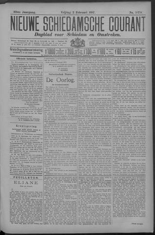 Nieuwe Schiedamsche Courant 1917-02-02