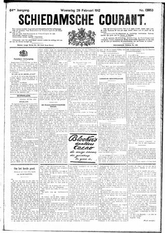 Schiedamsche Courant 1912-02-28