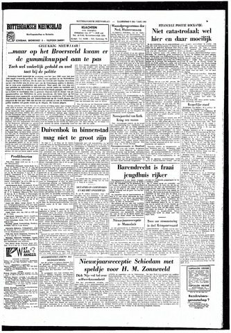 Rotterdamsch Nieuwsblad / Schiedamsche Courant / Rotterdams Dagblad / Waterweg / Algemeen Dagblad 1965-01-02