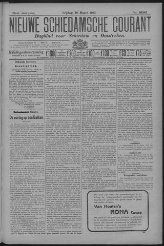 Nieuwe Schiedamsche Courant 1913-03-28