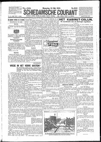 Schiedamsche Courant 1933-05-24