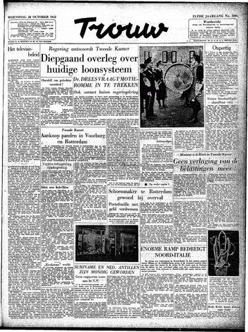 Trouw / De Rotterdammer 1953-10-28