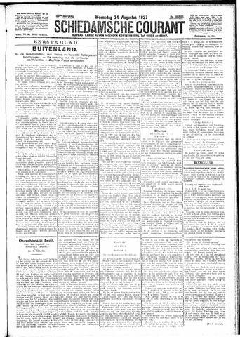Schiedamsche Courant 1927-08-24