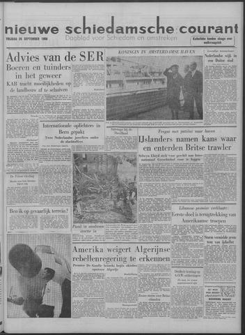 Nieuwe Schiedamsche Courant 1958-09-26
