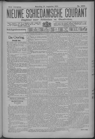 Nieuwe Schiedamsche Courant 1918-08-19