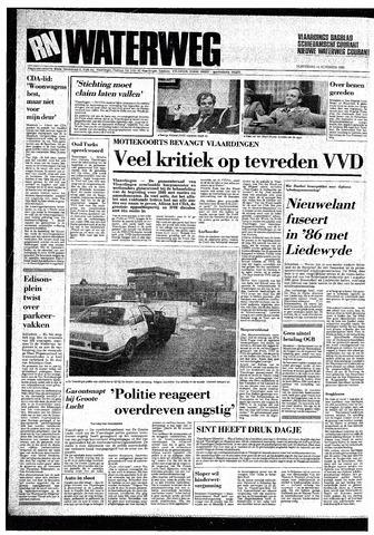 Rotterdamsch Nieuwsblad / Schiedamsche Courant / Rotterdams Dagblad / Waterweg / Algemeen Dagblad 1985-11-14