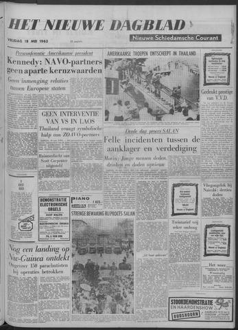 Nieuwe Schiedamsche Courant 1962-05-18