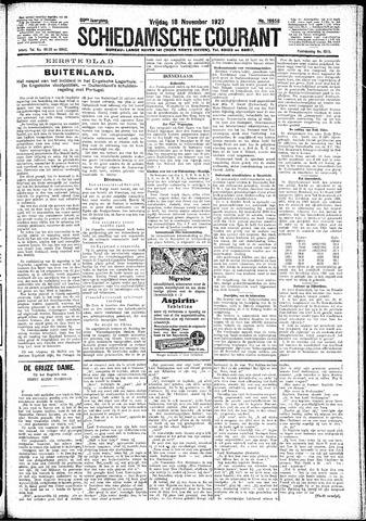 Schiedamsche Courant 1927-11-18