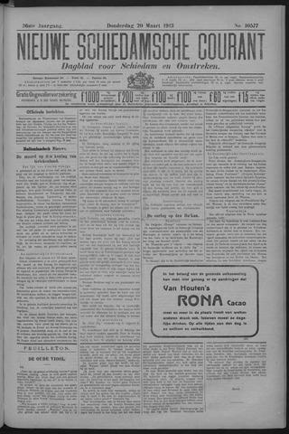 Nieuwe Schiedamsche Courant 1913-03-20