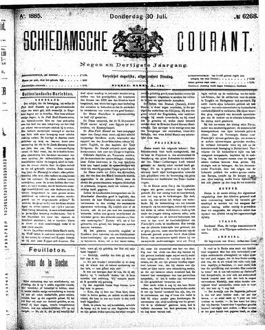 Schiedamsche Courant 1885-07-30