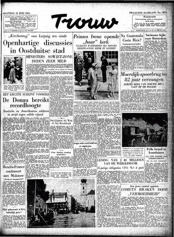 Trouw / De Rotterdammer 1954-07-12