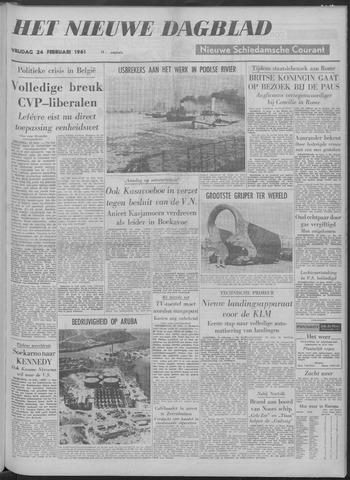 Nieuwe Schiedamsche Courant 1961-02-24