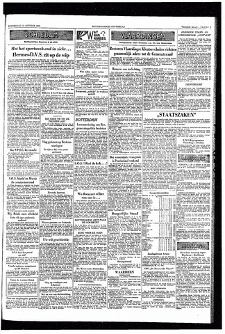 Rotterdamsch Nieuwsblad / Schiedamsche Courant / Rotterdams Dagblad / Waterweg / Algemeen Dagblad 1953-10-15