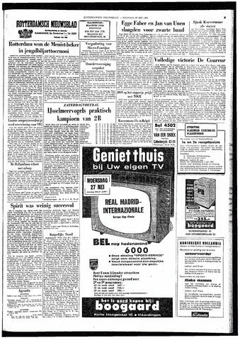 Rotterdamsch Nieuwsblad / Schiedamsche Courant / Rotterdams Dagblad / Waterweg / Algemeen Dagblad 1964-05-25
