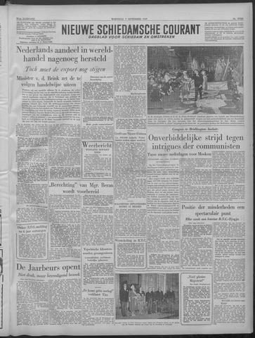 Nieuwe Schiedamsche Courant 1949-09-07