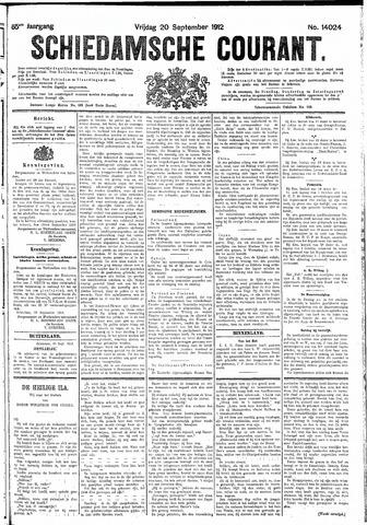 Schiedamsche Courant 1912-09-20