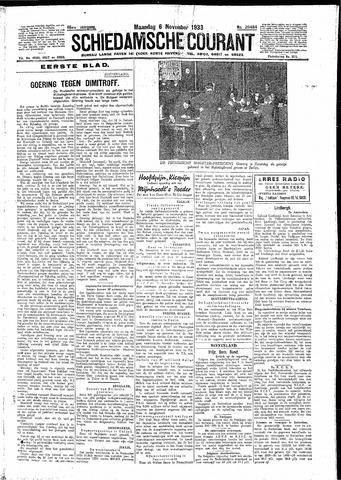 Schiedamsche Courant 1933-11-06