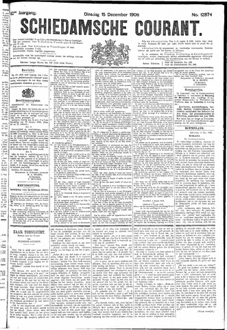 Schiedamsche Courant 1908-12-15