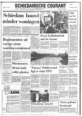 Rotterdamsch Nieuwsblad / Schiedamsche Courant / Rotterdams Dagblad / Waterweg / Algemeen Dagblad 1974-05-01