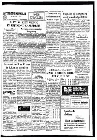 Rotterdamsch Nieuwsblad / Schiedamsche Courant / Rotterdams Dagblad / Waterweg / Algemeen Dagblad 1966-11-05