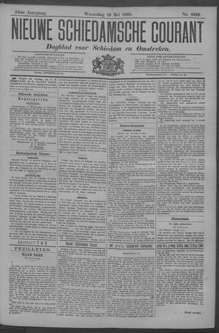 Nieuwe Schiedamsche Courant 1909-05-19