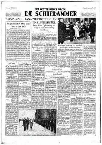 Rotterdamsch Parool / De Schiedammer 1949-05-18