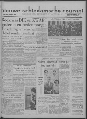 Nieuwe Schiedamsche Courant 1958-10-28