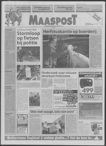 Maaspost / Maasstad / Maasstad Pers 1994-10-19