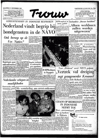 Trouw / De Rotterdammer 1957-12-09