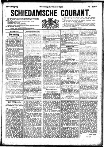 Schiedamsche Courant 1916-10-11