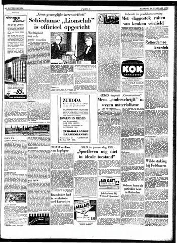 Trouw / De Rotterdammer 1962-02-26