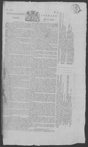 Rotterdamse Courant 1826-04-22
