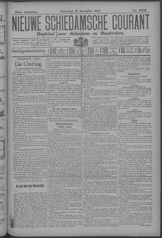Nieuwe Schiedamsche Courant 1917-12-22