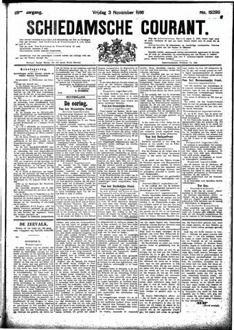 Schiedamsche Courant 1916-11-03