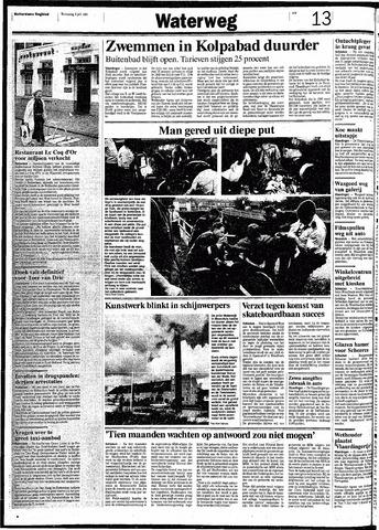 Rotterdamsch Nieuwsblad / Schiedamsche Courant / Rotterdams Dagblad / Waterweg / Algemeen Dagblad 1991-07-03
