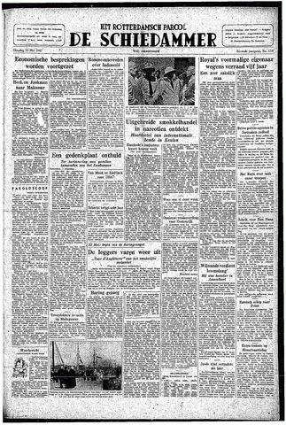 Rotterdamsch Parool / De Schiedammer 1947-05-13